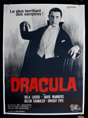 Dracula movie poster (French)