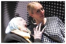 Nosferatu sucks InsideOut Gina's blood