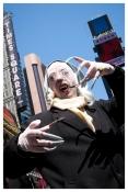Nosferatu takes over Times Square