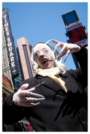 Nosferatu takes over Times Square