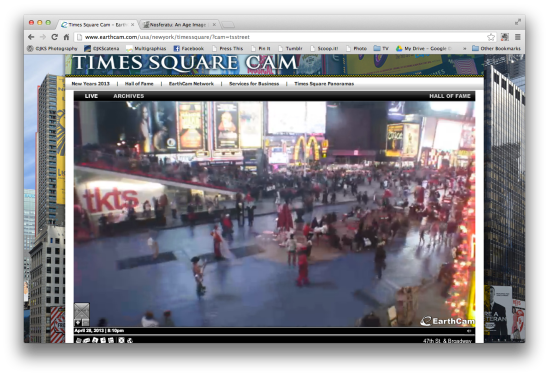 Nosferatu @ EarthCamera, Times Square