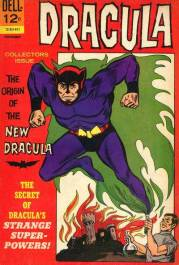 Dracula becomes a comics hero