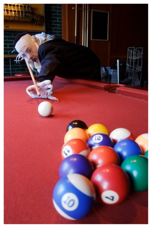 Playing pool??