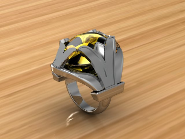 Carlota Ring, View 1