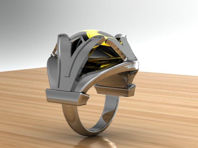 Carlota Ring, View 2