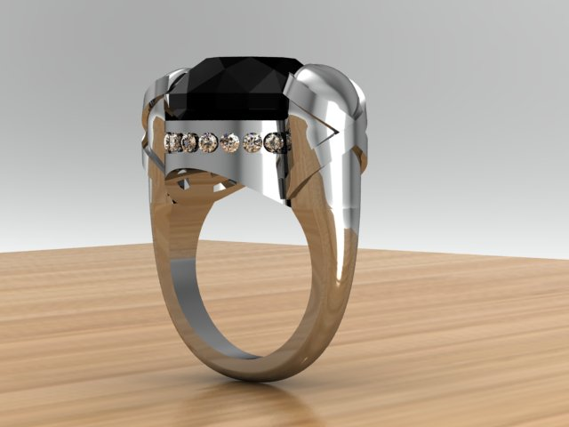 Nosferatu Ring, View 3