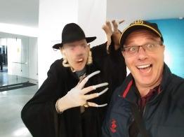 Nosferatu ataca o cineasta israelense Alon Newman.