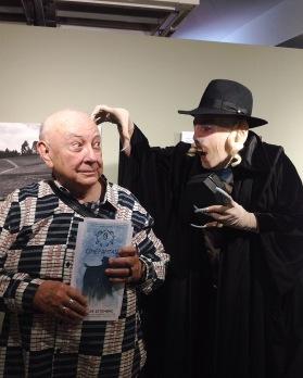 Nosferatu e o homenageado, Sergio Mamberti.